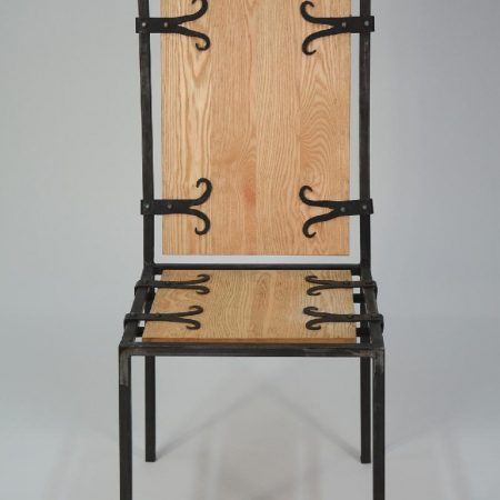 WROUGHT IRON TERRACE CHAIR