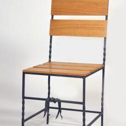 Wrought Iron classicistic garden chair