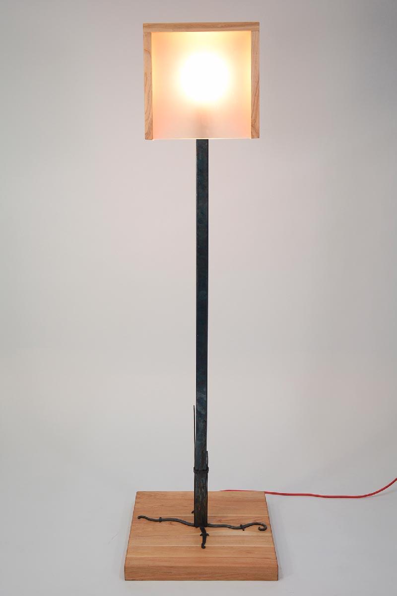 Floor Lamp Warm Home Creative Iron