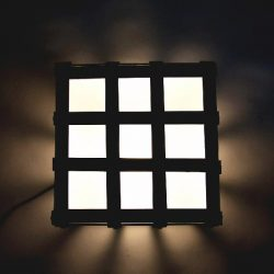 Iron Cube Floor Lamp