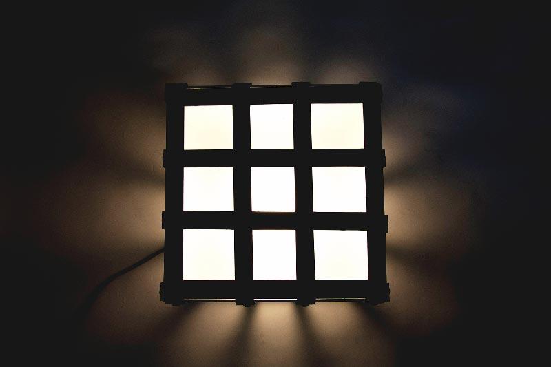Wrought iron floor lamp creative iron iron cube floor lamp aloadofball Images