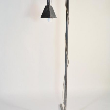 "Iron Floor Lamp ""Industrial"""