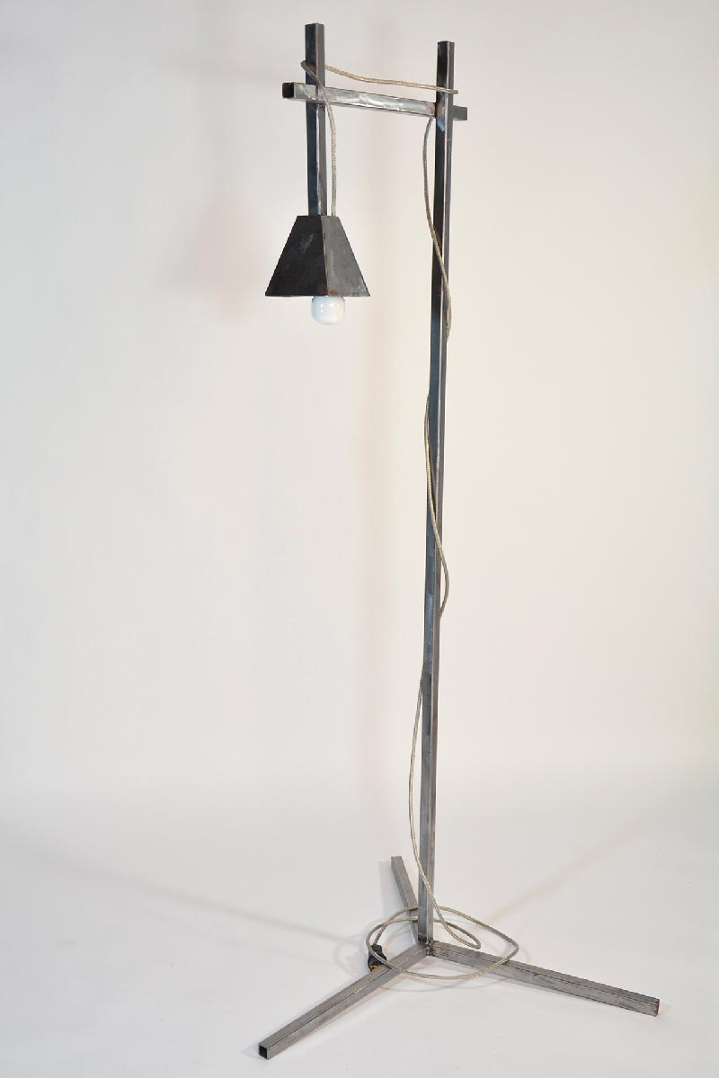 Iron Floor Lamp Industrial