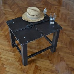 This wrought iron table will definitely make any space in your home much more attractive
