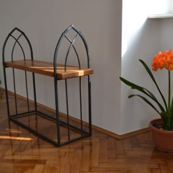 This wrought iron furniture is durable and can withstand all conditions.