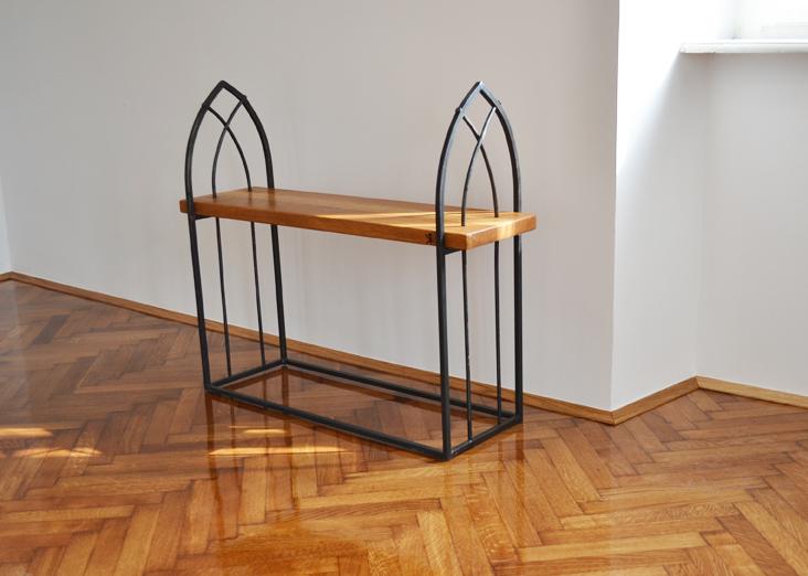 Wrought-iron-bench-Gothic