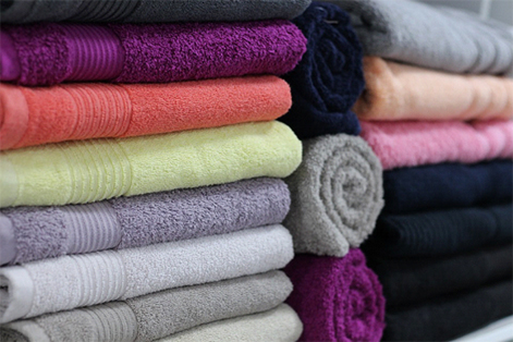 Colourful-towels